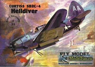Fly Model 003 - Curtiss SB2C 4 Helldiver