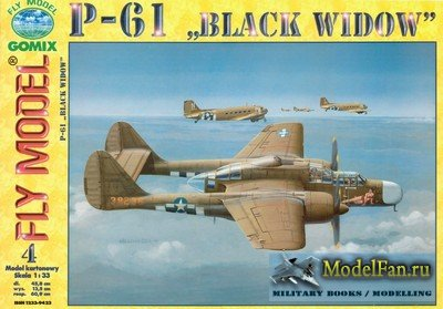 Fly Model 004 - P-61 Black Widow