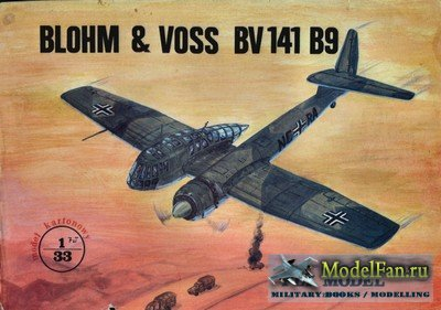 Fly Model 006 - Blohm & Voss BV-141-B9