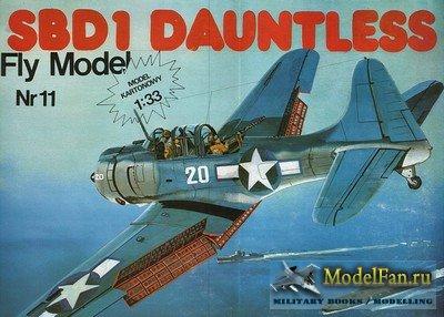 Fly Model 011 - Sbd-1 Dauntless