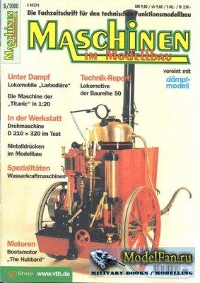 Maschinen Im Modellbau 5/2000