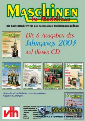 Maschinen Im Modellbau 1-6/2003