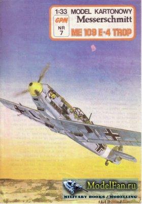 GPM 007 - Messerschmitt ME 109E-4 Tropical