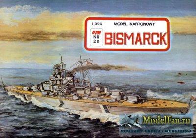 GPM 028 - Линкор Bismark