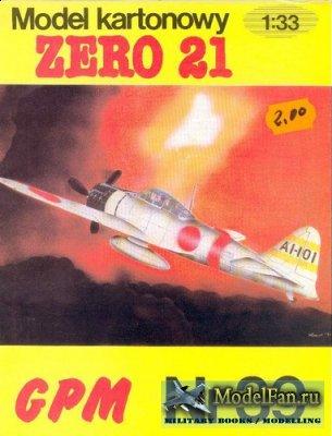 GPM 039 - Mitsubishi A6M2 Zero 21