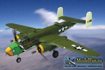 Digital Card Models - North American B-25B Mitchell