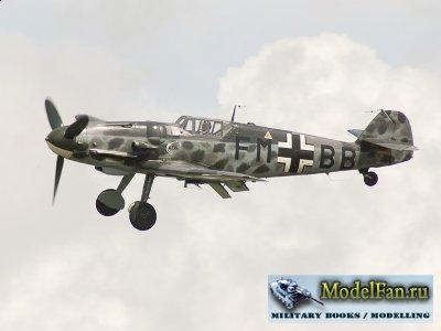 Digital Card Models - Messerschmitt Bf.109G-4