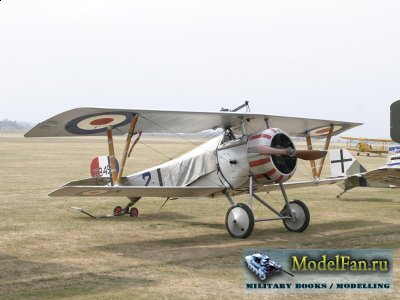 Digital Card Models - Nieuport 17