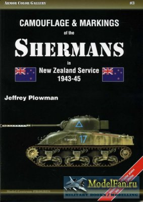 Armor Color Gallery #3 - Camouflage & Markings of the Shermans in New Zeala ...