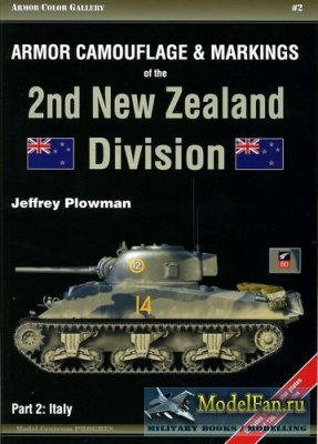 Armor Color Gallery #2 - Armor Camouflage & Markings of the 2Nd New Zealand ...