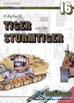 AJ-Press. Tank Power No.16 - PzKpfw. VI Tiger vol. 4