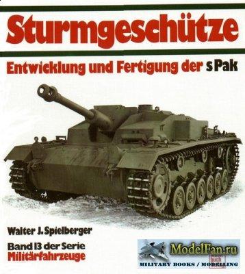 Motorbuch Verlag (Militarfahrzeuge 13) - Sturmgesсhutze