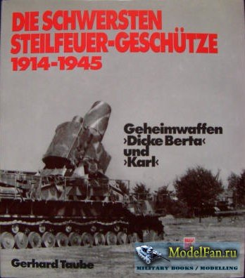 Motorbuch Verlag - Die Schwersten Steilfeuer-Geschutze 1914-1945