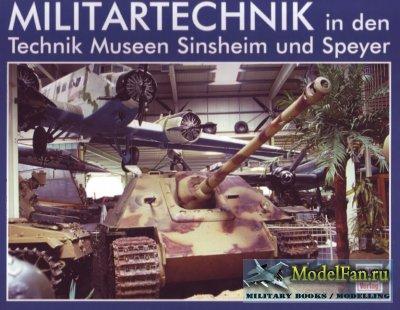 Motorbuch Verlag - Militartechnik in den Technik Museen Sinsheim und Speyer