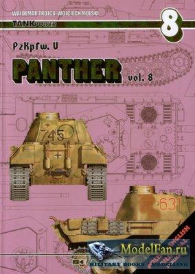AJ-Press. Tank Power No.08 - PzKpfw. V Panther vol. 8