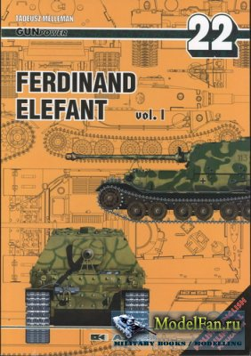AJ-Press. Gan Power No.22 - Ferdinand, Elefant Vol.1