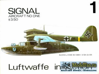 Squadron Signal (Aircraft In Action) 1001 - Luftwaffe in Action Part.1