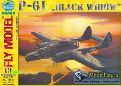 Fly Model 013 - P-61 Black Widow (2 варианта)