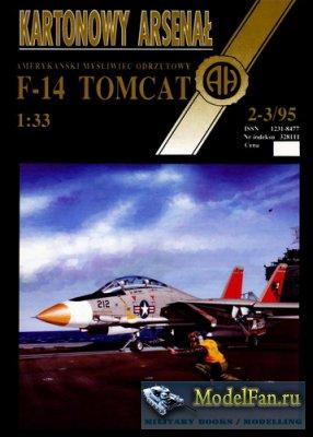 Halinski - Kartonowy Arsenal 2-3/1995 - F-14 Tomcat