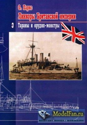 Линкоры Британской империи. Часть 3. Тараны и орудия-монстры (Оскар Паркс)