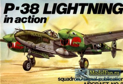 Squadron Signal (Aircraft In Action) 1025 - P-38 Lightning