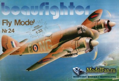 Fly Model 024 - Bristol Beaufighter