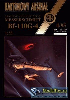 Halinski - Kartonowy Arsenal 4/1995 - Messerschmitt Bf-110G-4