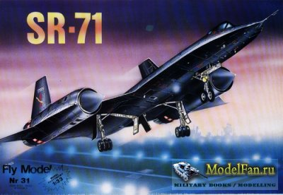 Fly Model 031 - SR-71 Blackbird