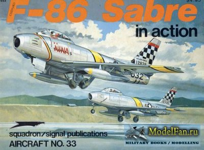 Squadron Signal (Aircraft In Action) 1033 - F-86 Sabre
