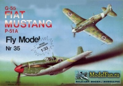 Fly Model 035 - Fiat G-55 & P-51A Mustang