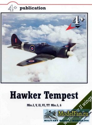 4+ Publication 10 - Hawker Tempest