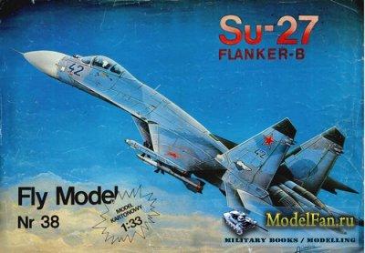 Fly Model 038 - Su-27 Flanker-B