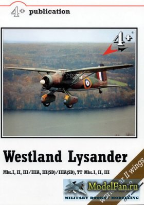 4+ Publication 9 - Westland Lysander