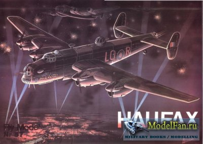 Fly Model 057 - Hanley Page Halifax B MkII