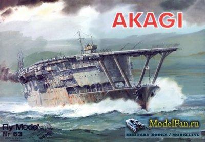 Fly Model 063 - Aircraft Carrier IJN Akagi
