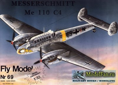 Fly Model 069 - Messerschmitt Me 110 C4