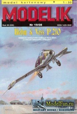 Modelik 19/2008 - Blohm & Voss P.210