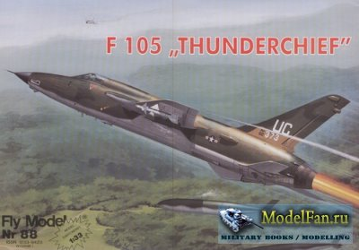Fly Model 088 - F-105