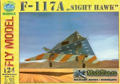 Fly Model 124 - F-117A
