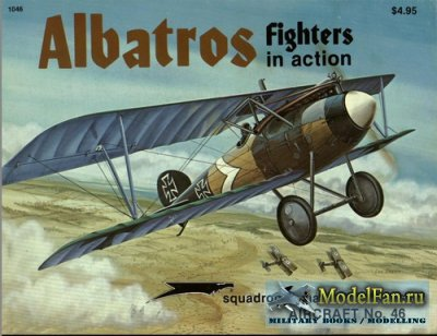 Squadron Signal (Aircraft In Action) 1046 - Albatros Fighters