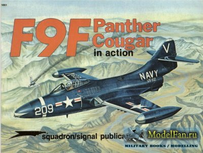 Squadron Signal (Aircraft In Action) 1051 - F9F Panther