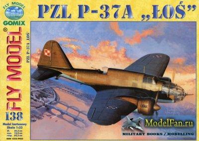 Fly Model 138 - PZL P-37A