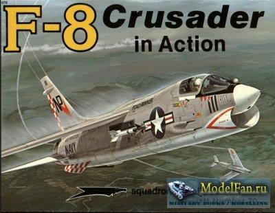 Squadron Signal (Aircraft In Action) 1070 - F-8 Crusader