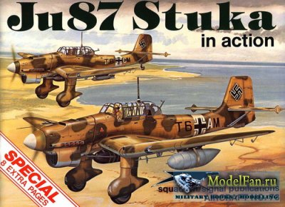 Squadron Signal (Aircraft In Action) 1073 - Ju87 Stuka (Special)
