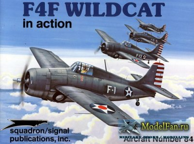 Squadron Signal (Aircraft In Action) 1084 - F4F Wildcat