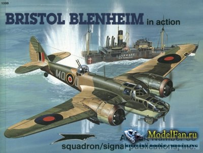 Squadron Signal (Aircraft In Action) 1088 - Bristol Blenheim