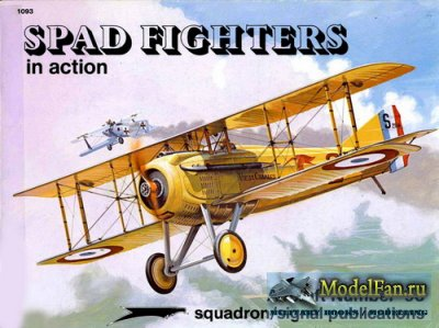 Squadron Signal (Aircraft In Action) 1093 - Spad Fighters