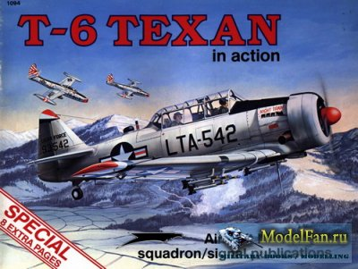 Squadron Signal (Aircraft In Action) 1094 - T-6 Texan (Special)