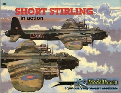 Squadron Signal (Aircraft In Action) 1096 - Short Stirling