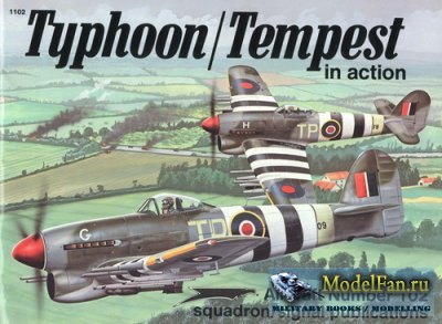 Squadron Signal (Aircraft In Action) 1102 - Typhoon/Tempest